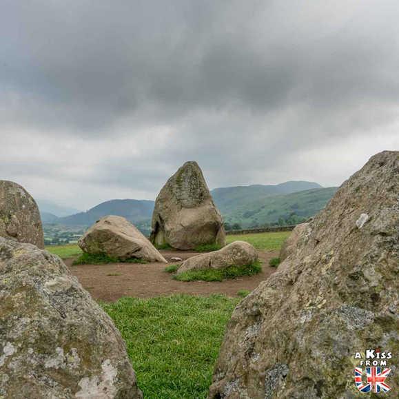 Castlerigg Stone Circle - Que voir absolument dans le Lake District en Angleterre ? Visiter le Lake District avec A Kiss from UK, le blog du voyage en Ecosse, Angleterre et Pays de Galles