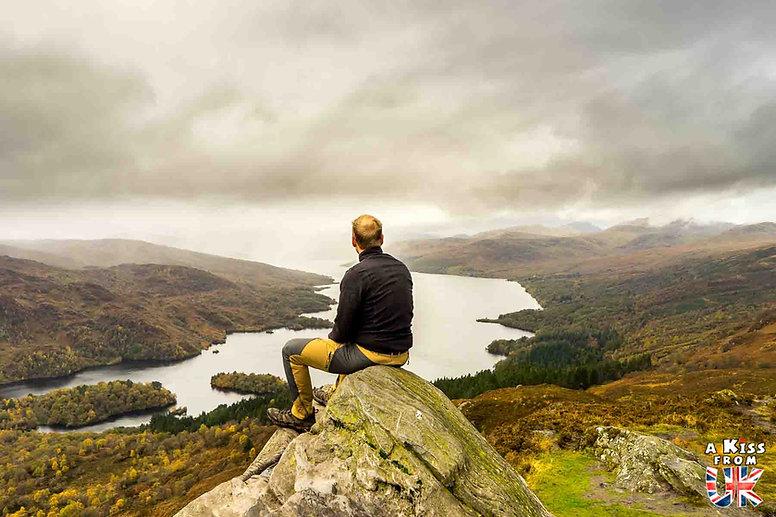 Les Trossachs, cinquième étape du Road Trip de 8 jours en Ecosse à l'automne - A Kiss from UK, guide et blog voyage sur l'Ecosse, l'Angletere et le Pays de Galles