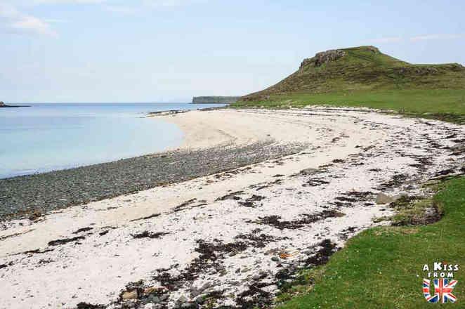 Coral Beach sur l'île de Skye - Les plus belles randonnées d'Ecosse - Découvrez quelles sont les randonnées à faire en Ecosse avec A Kiss from UK, le guide et blog du voyage en Grande-Bretagne