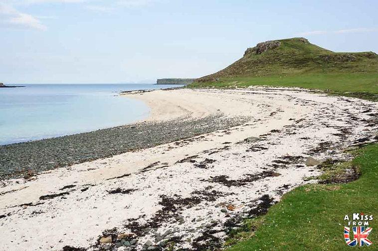 Coral Beach - Que faire et que voir sur l'île de Skye en Ecosse ? Visiter les plus beaux endroits de l'île de Skye avec notre guide complet.