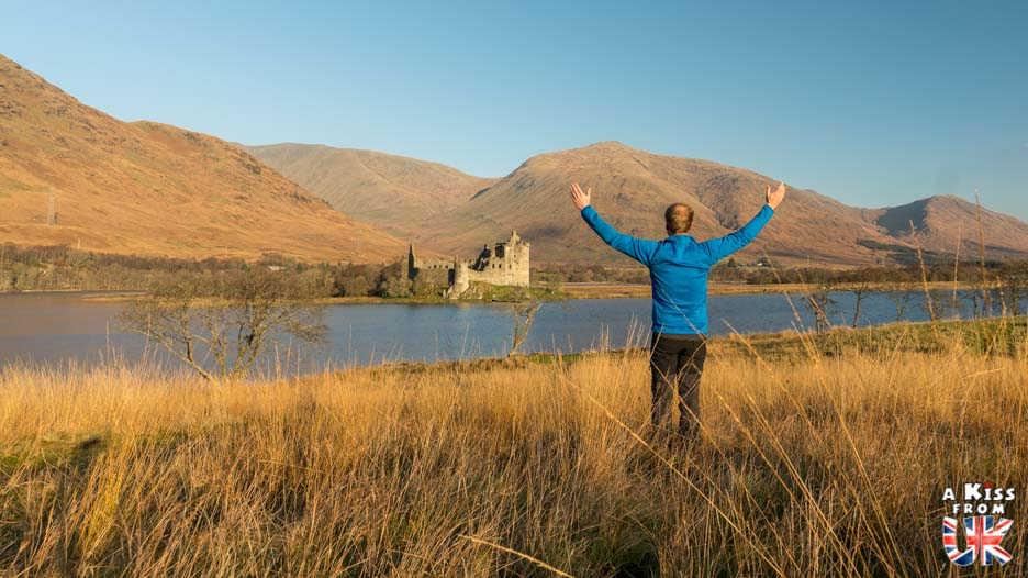 Kilchurn Castle - A faire et à voir dans le Glencoe et sa région en Ecosse. Visiter le Glencoe avec A Kiss from UK, le guide & blog du voyage en Ecosse, Angletere et Pays de Galles