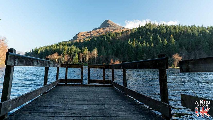 Glencoe Lochan - A faire et à voir dans le Glencoe et sa région en Ecosse. Visiter le Glencoe avec A Kiss from UK, le guide et blog du voyage en Ecosse.