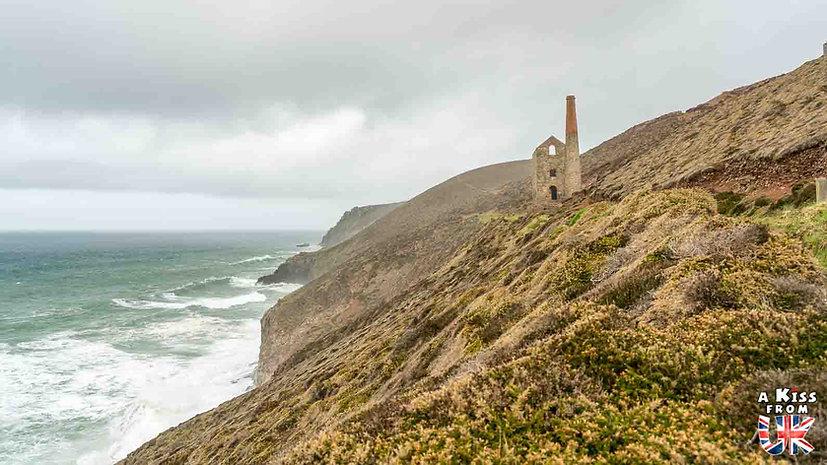 Wheal Coates - Que voir et que faire dans les Cornouailles en Angleterre ? Visiter les Cornouailles et ses plus beaux endroits avec notre guide complet - A Kiss from UK, le blog du voyage en Agleterre.