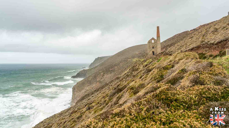 Wheal Coates - Que faire dans les Cornouailles en Angleterre ? Visiter les plus beaux endroits à voir absolument dans les Cornouailles avec notre guide complet.