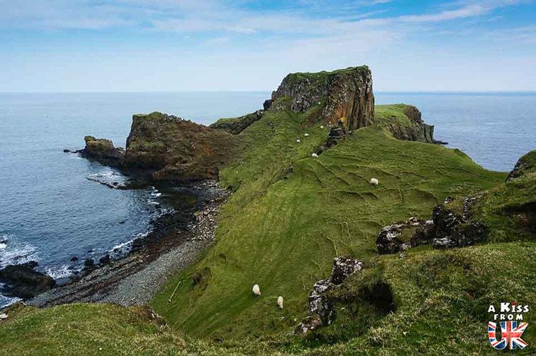 Brothers Point sur l'île de Skye - Que faire et que voir sur l'île de Skye en Ecosse ? Visiter les plus beaux endroits de l'île de Skye avec notre guide complet.