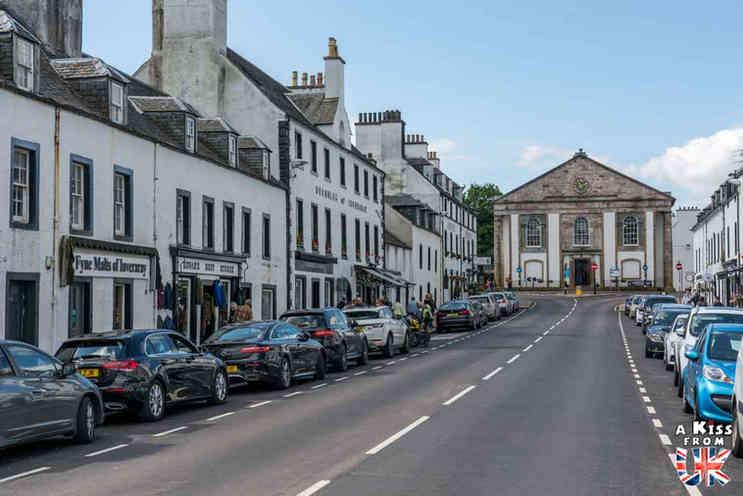 Inveraray - Roadtrip de 8 jours en Ecosse à l'automne - Itinéraire de voyage en Ecosse par A Kiss from UK, guide et blog voyage sur l'Ecosse, l'Angletere et le Pays de Galles