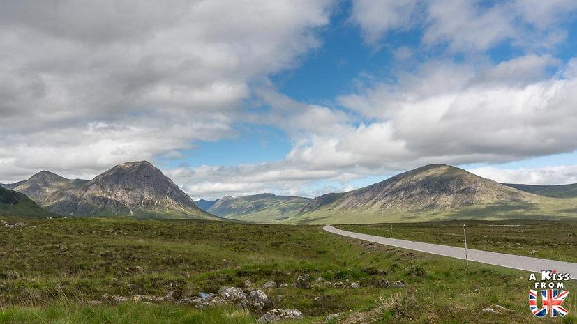 La vallée du Glencoe - A faire et à voir dans le Glencoe et sa région en Ecosse. Visiter le Glencoe avec A Kiss from UK, le guide et blog du voyage en Ecosse.