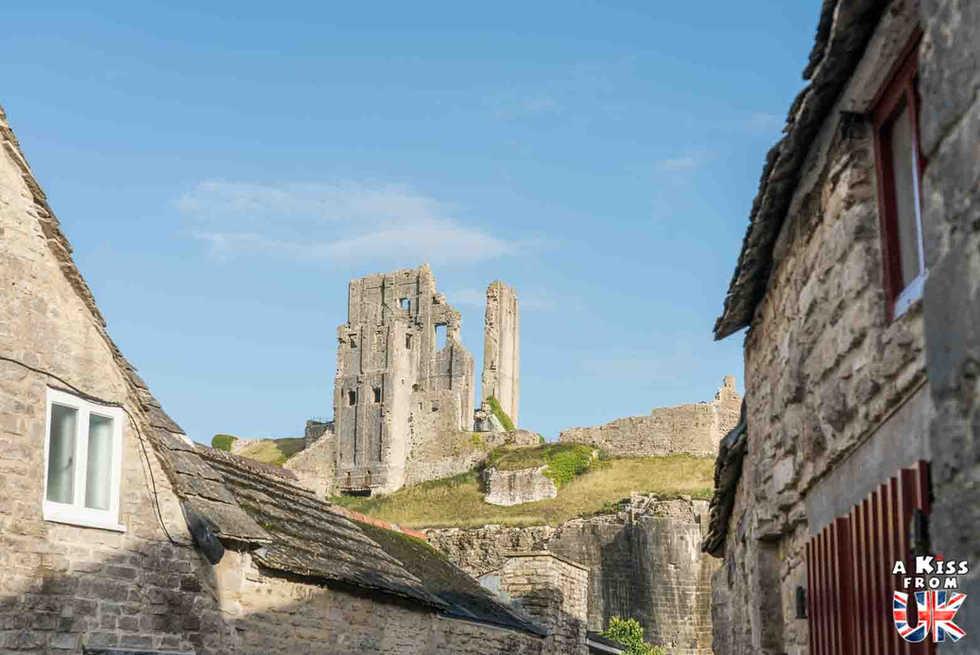 Corfe Castle - Les plus belles ruines de Grande-Bretagne - A Kiss from UK, le blog du voyage en Ecosse, Angletere et Pays de Galles.