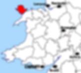 Carte Anglesey - Que voir sur l'île d'Anglesey au Pays de Galles ? Visiter Anglesey avec A Kiss from UK, le blog du voyage en Ecosse, Angleterre et Pays de Galles.