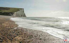 Cuckmere Haven - Que voir absolument dans le Sussex en Angleterre ? Visiter le Sussex  et ses plus beaux endroits avec A Kiss from UK, le guide et blog du voyage en Ecosse, Angleterre et Pays de Galles.