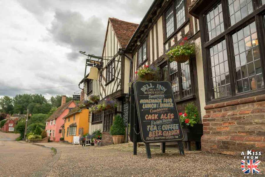 Kersey - Que voir dans le suffolk en Angleterre ? Visiter le Suffolk avec A Kiss from UK, le guide et blog du voyage en Ecosse, l'Angleterre et Pays de Galles.