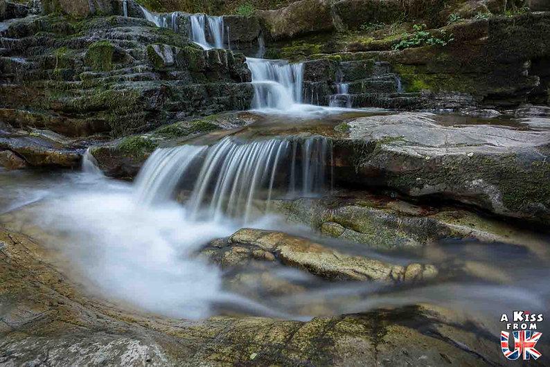 Four Waterfalls Trail dans les Brecon Beacons - Que voir dans les Brecon Beacons au Pays de Galles - Visiter le Parc National des Brecon Beacons avec A Kiss from UK, le guide et blog du voyage en Grande-Bretagne.