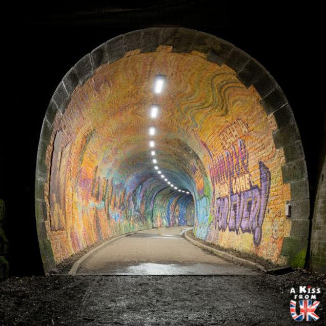 Colinton Tunnel à Edimbourg - Les plus belles ruines de Grande-Bretagne. Découvrez quels sont les plus beaux lieux abandonnés d'Angleterre, d'Ecosse et du Pays de Galles avec A Kiss from UK.
