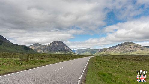 Les plus belles routes d'Ecosse. Découvrez le meilleur de la Grande-Bretagne avec A Kiss from UK.