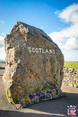 de Carter Bar à Jedburgh sur l'A68 - Les 15 plus belles routes d'Ecosse - road trip en Ecosse - A Kiss from UK, le guide & blog du voyage en Ecosse, Angleterre et Pays de Galles