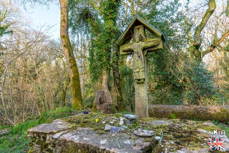 St Luke's Chapel dans le Dorset en Angleterre - Les plus belles ruines de Grande-Bretagne. Découvrez quels sont les plus beaux lieux abandonnés d'Angleterre, d'Ecosse et du Pays de Galles avec A Kiss from UK.