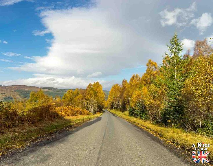 De Killin à Killiecrankie dans le Perthshire - Les 15 plus belles routes d'Ecosse - road trip en Ecosse - A Kiss from UK, le guide & blog du voyage en Ecosse, Angleterre et Pays de Galles