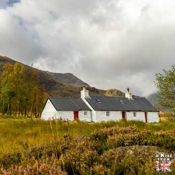 Black Rock Cottage - A faire et à voir dans le Glencoe et sa région en Ecosse. Visiter le Glencoe avec A Kiss from UK, le guide et blog du voyage en Ecosse.