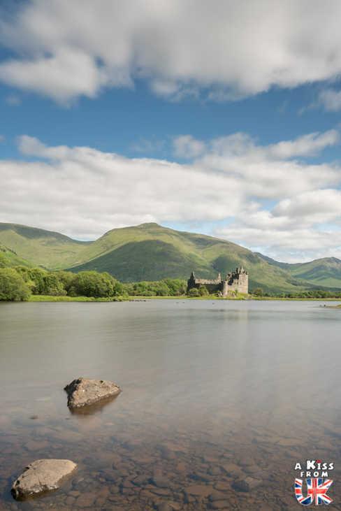 Le château de Kilchurn - A faire et à voir dans le Glencoe et sa région en Ecosse. Visiter le Glencoe avec A Kiss from UK, le guide et blog du voyage en Ecosse.