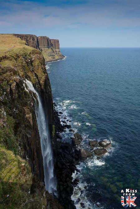 Kilt Rock - Que faire et que voir sur l'île de Skye en Ecosse ? Visiter les plus beaux endroits de l'île de Skye avec notre guide complet.