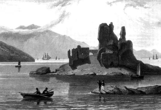 La ruine du château d'Eilean Donan après la bataille de 1719 - Eilean Donan Castle, la reconstruction du plus célèbre château d'Ecosse. Découvrez l'histoire du château d'Eilean Donan en Ecosse. | A Kiss From UK