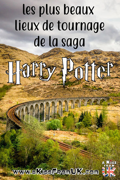 Découvrez les plus beaux lieux de tournage de la saga Harry Potter !  A Kiss from UK, le blog de voyage sur l'Ecosse, l'Angleterre et le Pays de Galles, vous amène sur les vraies traces du jeune héro à lunettes!