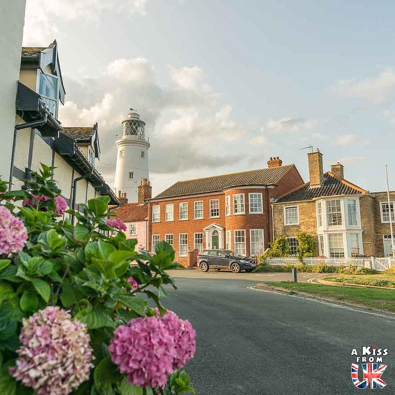 Southwold dans le Suffolk - Les lieux à voir absolument en Angleterre en dehors de Londres. Découvrez quels sont les plus beaux endroits d'Angleterre et les incontournables à visiter en dehors de Londres lors de votre voyage - A Kiss from UK, le blog du voyage en Grande-Bretagne.