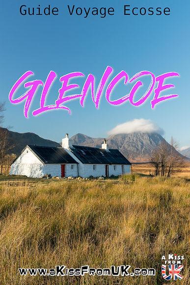 Glencoe : le guide. A faire et à voir dans le Glencoe et sa région en Ecosse. Visiter le Glen Coe avec A Kiss from UK, le guide & blog du voyage en Ecosse, Angletere et Pays de Galles