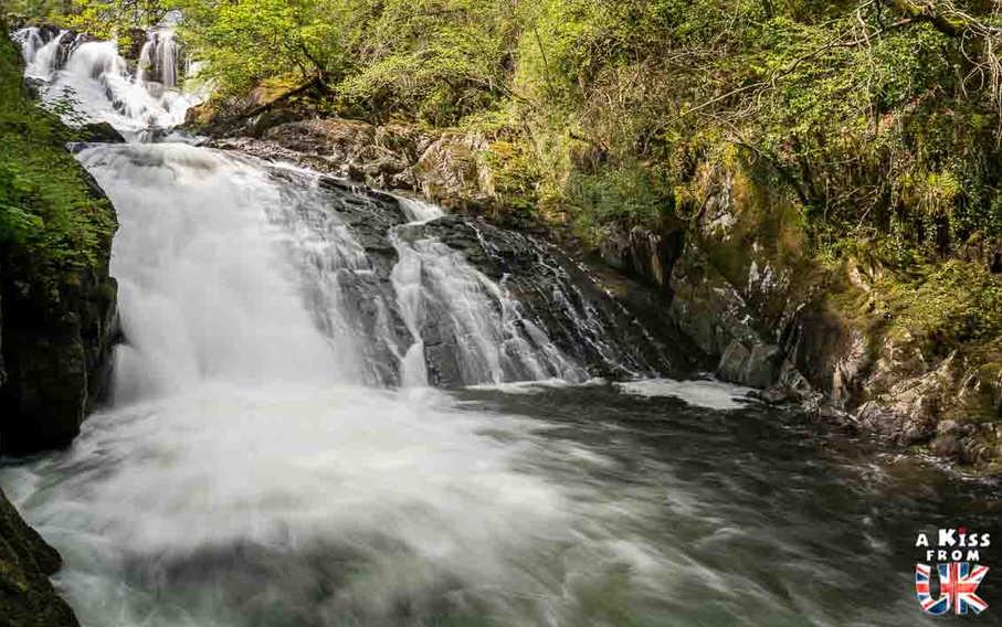 Swallow Falls - Que faire dans le Snowdonia au Pays de Galles ? Visiter les plus beaux endroits à voir dans le Parc National du Snowdonia avec notre guide complet.
