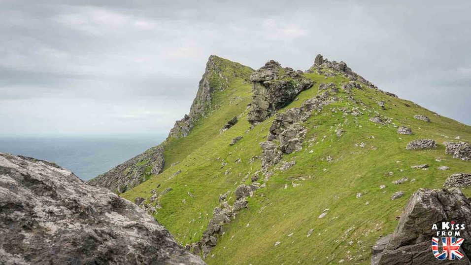 Les paysages acérés de St Kilda - Visiter l'archipel de St Kilda en Ecosse - Que voir sur l'île de St Kilda en Ecosse ? - A Kiss from UK, guide et blog voyage sur l'Ecosse.