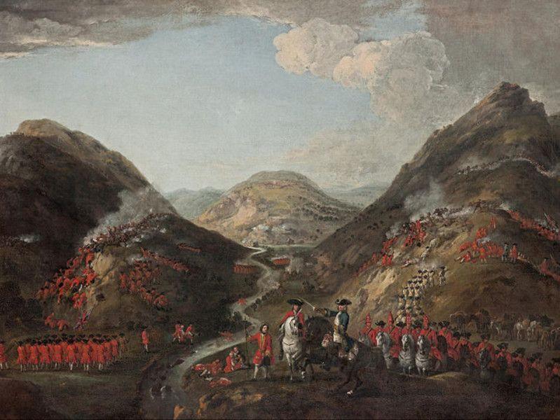 La bataille de Glen Shiel - Eilean Donan Castle, la reconstruction du plus célèbre château d'Ecosse. Découvrez l'histoire du château d'Eilean Donan en Ecosse. | A Kiss From UK