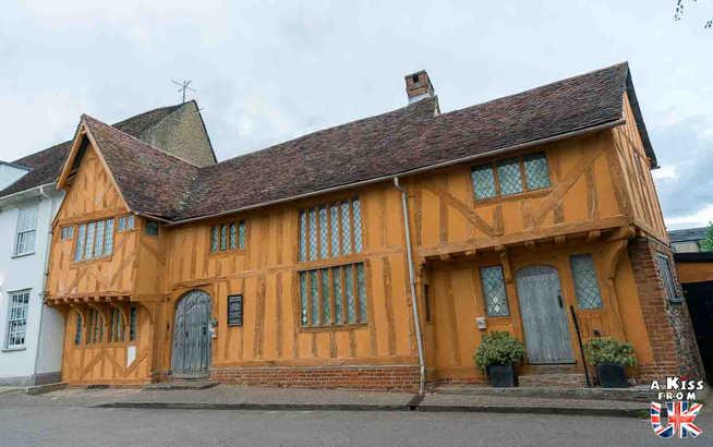 Lavenham - Que voir dans le suffolk en Angleterre ? Visiter le Suffolk avec A Kiss from UK, le guide et blog du voyage en Ecosse, l'Angleterre et Pays de Galles.