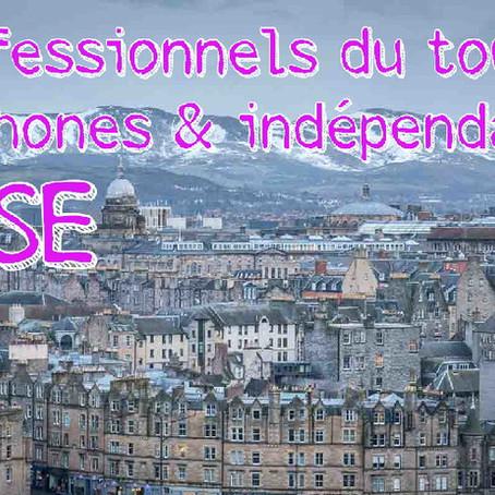 Les guides français en Ecosse et les professionnels du tourisme francophones indépendants.