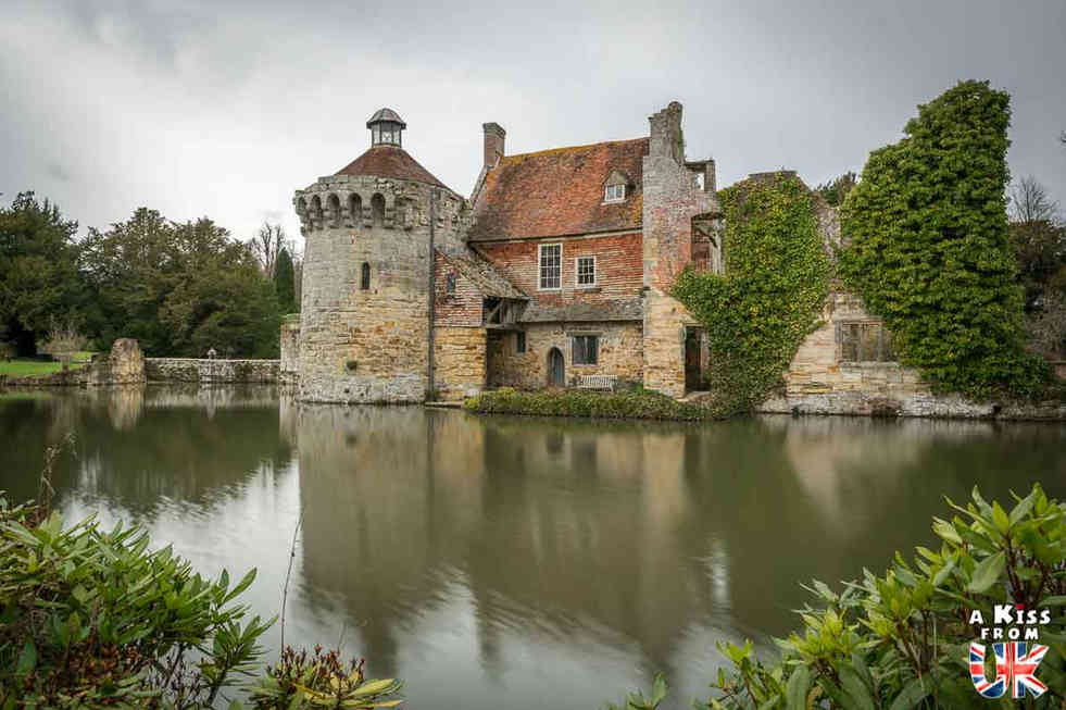 Scotney Castle - Que faire dans le Ken en Angleterre ? Visiter les plus beaux endroits à voir dans le Kent avec notre guide complet.
