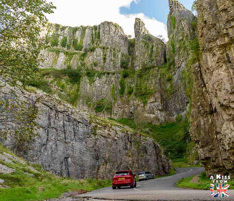 Les Gorges de Cheddar dans le Somerset Visiter l'Angleterre : les incontournables ! - 25 endroits à voir absolument en Angleterre en dehors de Londres - A Kiss from UK, le guide et blog du voyage en Grande-Bretagne.