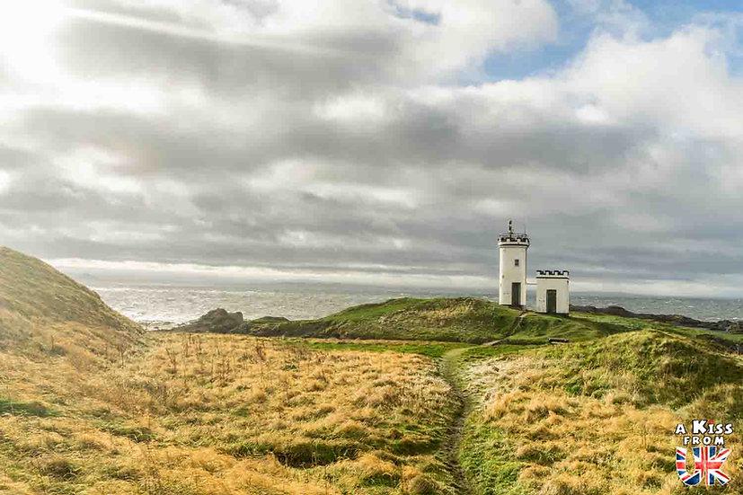 Le phare d'Elie - Que voir et que faire dans la Péninsule de Fife en Ecosse ? Visiter la Péninsule de Fife avec A Kiss from UK, le guide et blog du voyage en Ecosse.