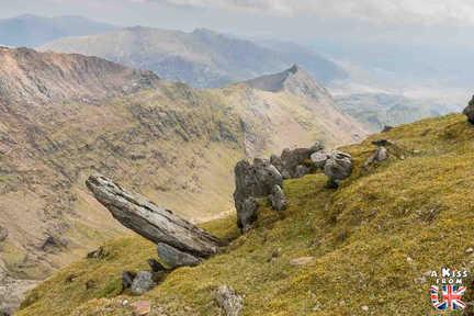 le Mont Snowdon - Que voir dans le Parc National du Snowdonia au Pays de Galles ? Visiter le Snowdonia avec A Kiss from UK, blog du voyage en Ecosse, Angletere et Pays de Galles.