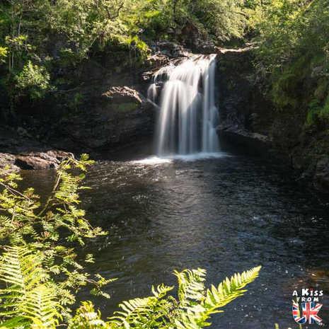 Falls of Falloch - A voir et à faire dans le Loch Lomond et les Trossachs en Ecosse. Visiter le Parc National du Loch Lomond et des Trossachs avec notre guide complet sur cette région écossaise.
