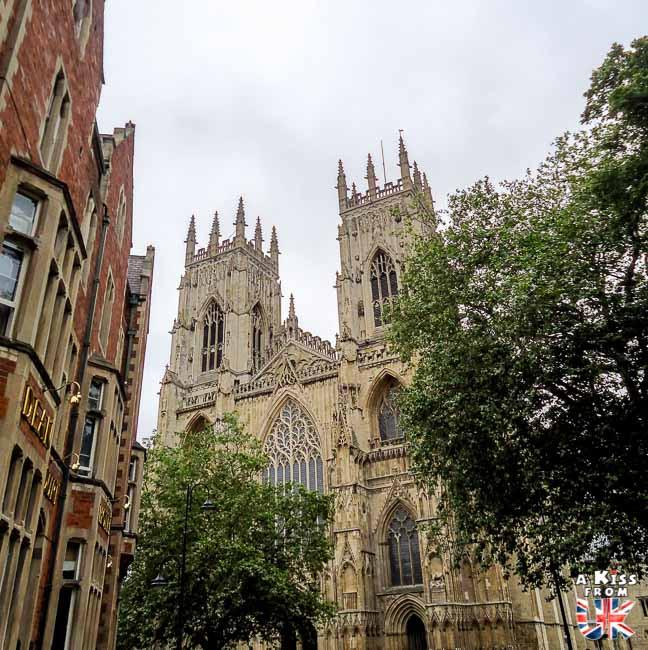 La Cathédrale de York - 30 photos qui vont vous donner envie de voyager en Angleterre après l'épidémie de coronavirus - Découvrez les plus belles destinations et les plus belles régions d'Angleterre à visiter.