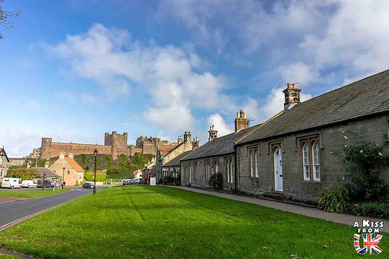 Bamburgh - Que voir dans le Northumberland en Angleterre ? Visiter le Northumberland avec A Kiss from UK, le guide et blog du voyage en Ecosse, Angleterre et Pays de Galles.