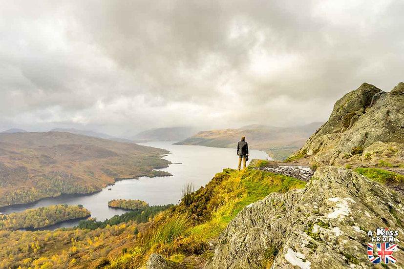 Le Ben A'An - A voir et à faire dans le Loch Lomond et les Trossachs en Ecosse. Visiter le Parc National du Loch Lomond et des Trossachs avec notre guide complet. A Kiss from UK, le blog du voyage en Ecosse.