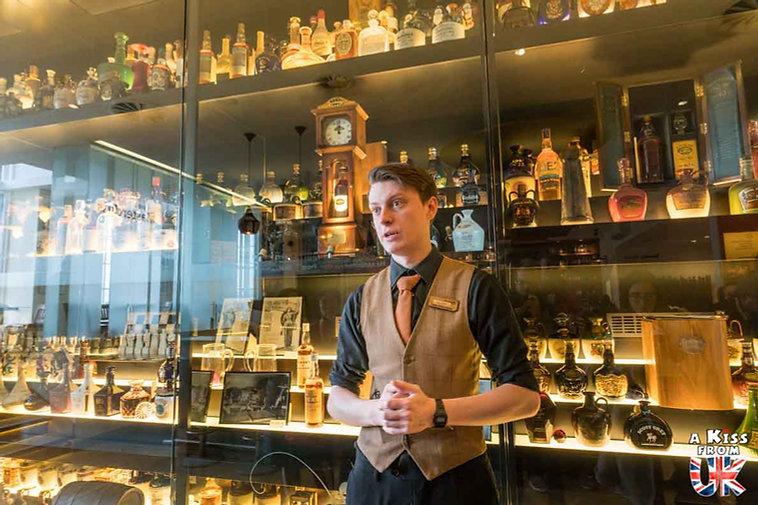 The Scotch Whisky Experience à Edimbourg - Visiter Edimbourg : les endroits à voir absolument dans la capitale de l'Ecosse - Découvrez les plus beaux lieux d'Edimbourg avec le guide complet d'A Kiss from UK, le blog du voyage en Ecosse.
