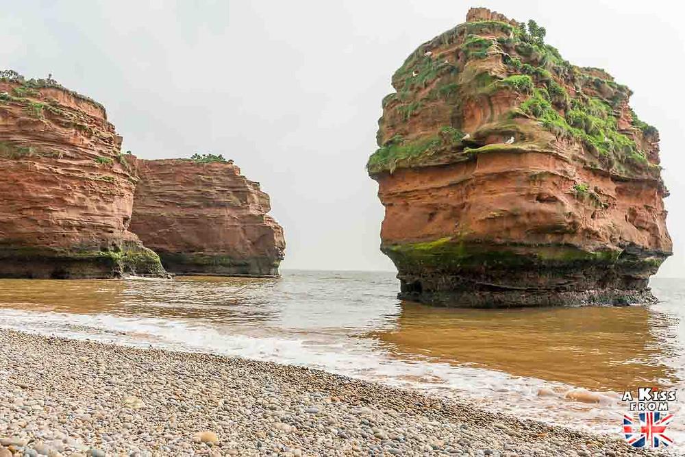 Ladram Bay dans le Devon - 30 photos qui vont vous donner envie de voyager en Angleterre après l'épidémie de coronavirus - Découvrez les plus belles destinations et les plus belles régions d'Angleterre à visiter.