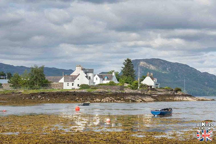 Plockton - Visiter le Kyle of Lochalsh - Que faire et que voir sur l'île de Skye en Ecosse ? Visiter les plus beaux endroits de l'île de Skye avec notre guide complet.