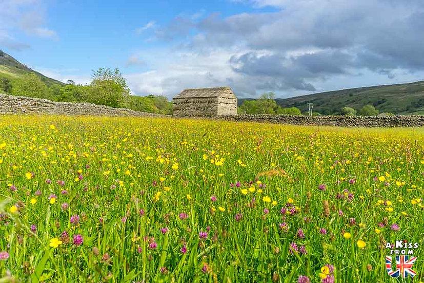 Muker - Que voir dans les Yorkshire Dales en Angleterre ? Visiter le Parc National des Yorkshire Dales avec A Kiss from UK, le blog du voyage en Grande-Bretagne.