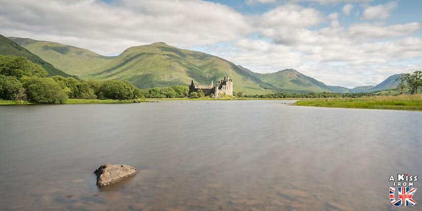 Kilchurn Castle - A faire et à voir dans le Glencoe et sa région en Ecosse. Visiter le Glencoe avec A Kiss from UK, le guide et blog du voyage en Ecosse.