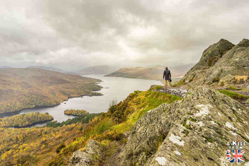 Ben A'an dans les Trossachs - Les plus belles randonnées d'Ecosse - Découvrez quelles sont les randonnées à faire en Ecosse avec A Kiss from UK, le guide et blog du voyage en Grande-Bretagne