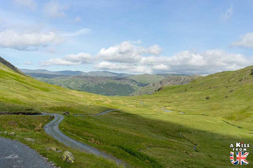 Honister Pass - Que voir absolument dans le Lake District en Angleterre ? Visiter le Lake District avec A Kiss from UK, le blog du voyage en Ecosse, Angleterre et Pays de Galles.