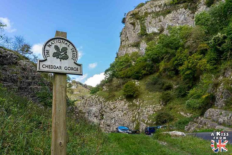 Les Gorges de Cheddar - Découvrez les plus beaux paysages d'Angleterre avec notre guide voyage qui vous emménera visiter les plus beaux endroits d'Angleterre.