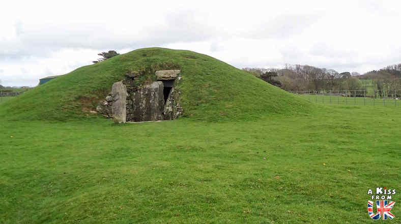 Bryn Celli Ddu - Que voir sur l'île d'Anglesey au Pays de Galles ? Visiter Anglesey avec A Kiss from UK, le blog du voyage en Ecosse, Angleterre et Pays de Galles.